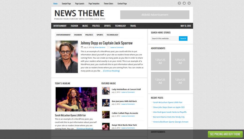 News Theme